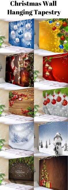 Christmas Wall Hanging Tapestry,Start from $9.2,sammydress,sammydress.com