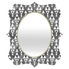 Stacked Quatrefoil Mirror