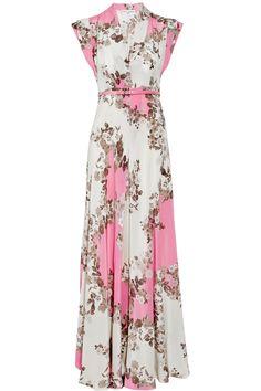 Floral Maxi Dresses for Wedding   home clothing dresses mini flaubert floral print silk crepe maxi dress
