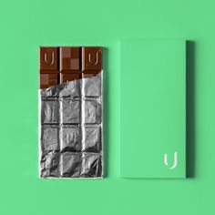 Chocolate package minimalist mockup concept for udle, a VR/AR technology brand in the restaurant industry. Design by LET'S PANDA, Vancouver. Ar Technology, Chocolate Packaging, Graphic Design Studios, Cool Websites, Vr, Mockup, Vancouver, Panda, Web Design
