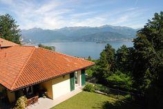 Modern villa on the hill of Stresa