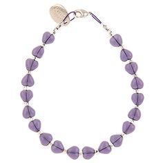 Carrie Elspeth - Purple Kissing Hearts Bracelet