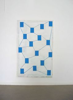 Dave Meijer untitled (2002) 190 x 120 cm., acrylic on canvas