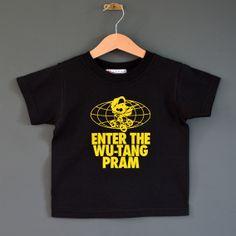Enter The Wu-Tang Pram toddler t-shirt http://www.nippazwithattitude.com/enter-the-wu-tang-pram.html