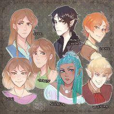 The Cruel Prince crew