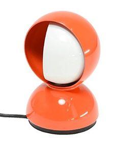 Artemide Lámpara De Mesa Eclisse Naranja