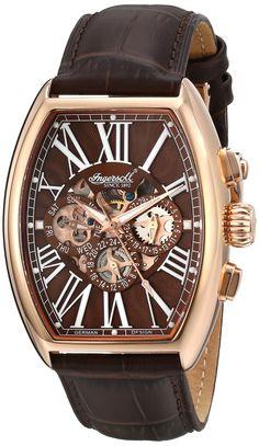 Ingersoll Men's IN3606RBR Arapaho Analog Display Automatic Self Wind Brown Watch