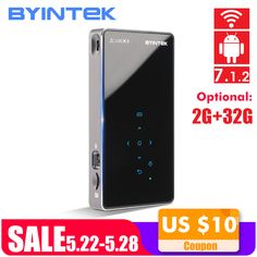 BYINTEK UFO P8I Android 7.1 OS Pico Pocket HD Portable Micro lAsEr WIFI Bluetooth Mini LED DLP Projector with Battery     #ledprojector #ledprojectorlights #ledprojectorheadlights #ledprojectorhometheaters #ledprojectorlamp #hotdeals #deals #hotsales #bigsale Projector Headlights, Projector Lamp, 3d Cinema, Portable Projector, Home Theater Projectors, Built In Speakers, Brand Store, Ufo