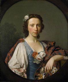 Flora Macdonald by Allan Ramsay (1713 - 1784) © 2006 University of Oxford - Ashmolean Museum