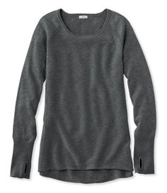 Would be great with leggings. Bean's Studio Sweater Tunic