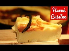 Recette du Flan vanille sans sucre et sans pâte Vanilla custard recipe without sugar and without dough Custard Recipes, Ww Desserts, Vanilla Custard, Creme, Sweet Tooth, Cheesecake, Food And Drink, Baking, Desserts Faciles