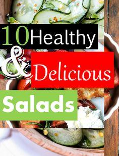 Healthy & Delicious Salads