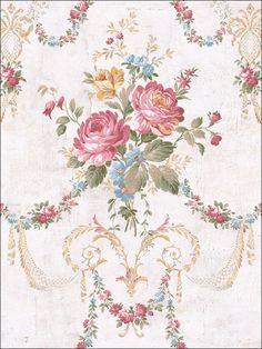wallpaperstogo.com WTG-120187 Seabrook Designs Traditional Wallpaper