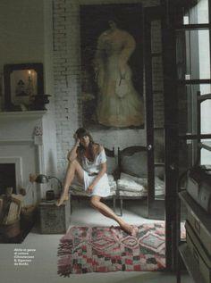 Helena's bohemian apartment