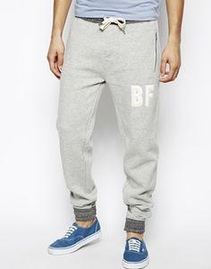 Bellfield Sweat Pants With Applique