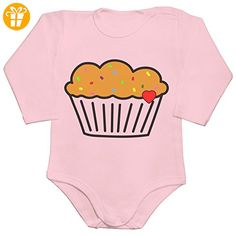 Cute Lovely Muffin Baby Romper Long Sleeve Bodysuit XX-Large - Baby bodys baby einteiler baby stampler (*Partner-Link)
