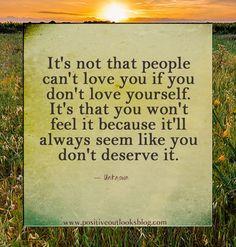 You Gotta Love Yourself   Positive Outlooks Blog
