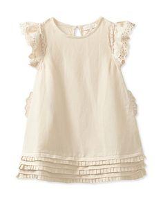 Pale Cloud Girl's Desiree Dress