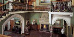 Tyntesfield - victorian hallway