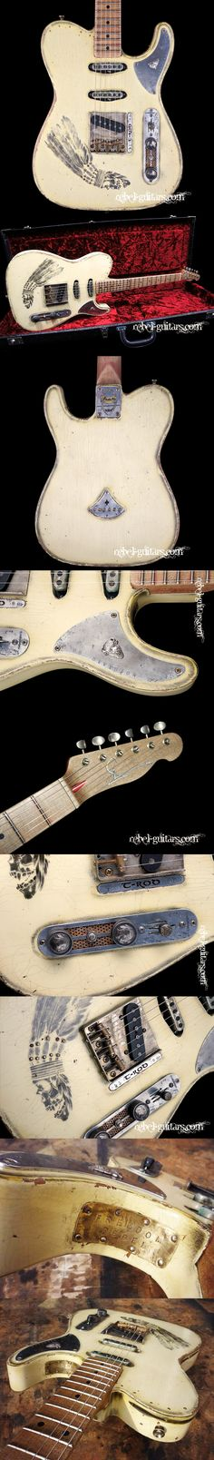 "Scala Guitars T-rod ""Indian"". More details at http://rebel-guitars.com/scala-guitars-t-rod-indian/"