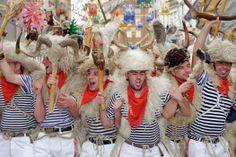 Top 10 Carnival traditions: Zvončari (bellmen) at Rijeka Carnival. Photo by Rijeka Tourist Board