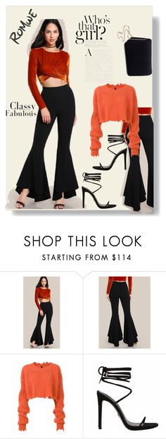 """""""Love Romwe"""" by almedina-mehic ❤ liked on Polyvore featuring Unravel and Miss Selfridge"""