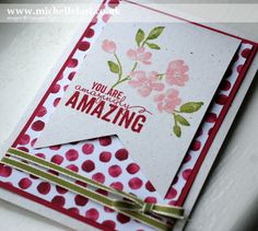 Stampin' Up! New Spring & Summer Seasonal Catalogue - Stampin' Up! Demonstrator Michelle Last