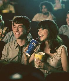 these cuties (500) Days of Summer