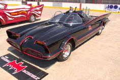"""Yes, George Barris designed the orignal """"Batmobile"""" for the campy TV show"""
