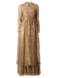 Shop Valentino lace gown in L'Eclaireur from the world's best independent boutiques at farfetch.com. Over 1000 designers from 300 boutiques in one website.