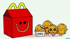 Mc Donald' s nuggets