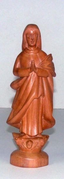 Lourdes Diniz. Nossa Senhora da Conceição. 21x8 cm