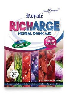 Royale Products Online Shop NL: Richarge Herbal Drink Mix