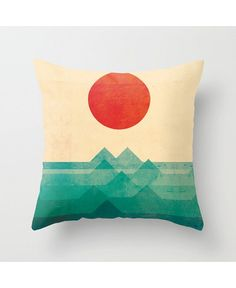 Cushion confidential: The best printed pillows around right now!