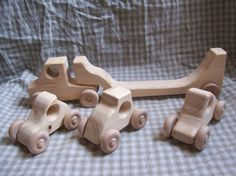 wood boy girl il truck car safe wheel pine fun