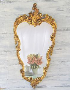 vintage mirrors for sale 33 x20 ornate french country
