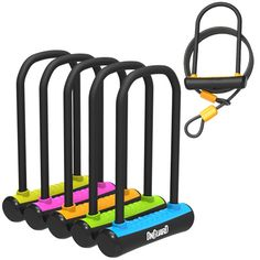 OnGuard U-LOCK NEON Series. *Available in Blue, Green, Orange, Pink, Red, White & Yellow*