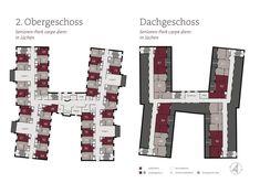 Bildergebnis für betreutes wohnen grundriss Diagram, Floor Plans, Assisted Living, Attic, Floor Layout, Pictures, Floor Plan Drawing, House Floor Plans