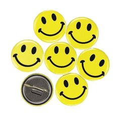 Smiley Face Buttons | 48ct for $5.99