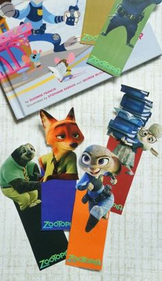 Free Disney's Zootopia Printable Bookmarks