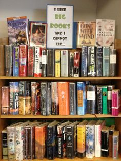 library book dispalys | Haha! Funny big book display. | Library Display Ideas