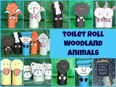 Percy the Park Keeper Woodland Animals Kids Craft