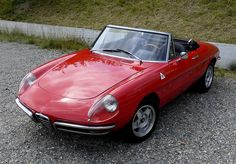 Alfa Romeo Duetto 1750!  Whether you're interested in restoring an old classic car or you just need to get your family's reliable transportation looking good after an accident, B & B Collision Corp in Royal Oak, MI is the company for you!  Call (248) 543-2929 or visit our website www.bandbcollisioncorp.net for more information!