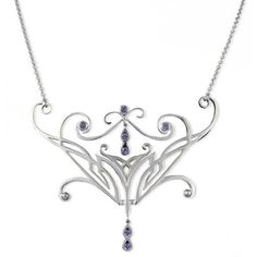 The Lord of the Rings silver Elvish Necklace Mystic
