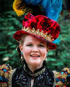 """""""Is everyone at Bristol beautiful? People often notice that the pictures we post from the Bristol. Elizabethan Costume, Renaissance Costume, Bristol Renaissance Faire, Smiling Faces, Haunted Mansion, Smile Face, Historical Clothing, Turban, Halloween Fun"""