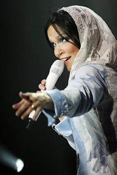 Tarja Turunen, snow queen :)