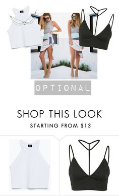 """""""Cool for the summer"""" by musa-innovator ❤ liked on Polyvore featuring Zara and Oh My Love"""