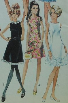 Hey, I found this really awesome Etsy listing at https://www.etsy.com/listing/192646378/vintage-dress-sewing-pattern-simplicity