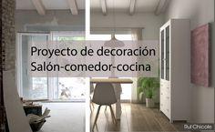 Proyecto de decoración; Salón-comedor-cocina http://blgs.co/BRoWTQ