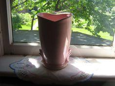 SALE SALE SALE Antique McCoy Vase in Pink Large